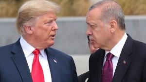 اردوغان لترامب : عقوباتكم لا تقلقنا و ماضون في حربنا شمال سوريا