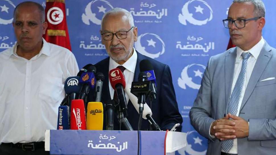 حركة النهضة تبحث سياسة التفاوض مع الأطراف الفائزة في الانتخابات التشريعية