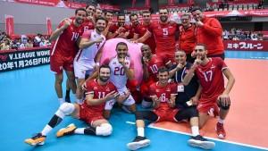 المنتخب التونسي للكرة الطائرة