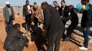 بمناسبة عيد الشجرة : حملة لتشجير محيط المستشفى الجامعي الجديد بصفاقس