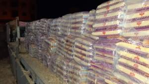 صفاقس: حجز أطنان من المواد الغذائية المدعمة كانت ستهرب الى ليبيا (صور)