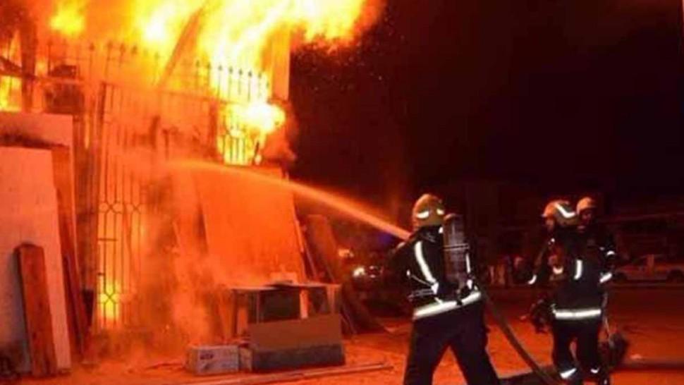 صيدلية حريق وكالة أسفار شركة تأمين سوسة