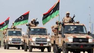 قوات حكومة الوفاق تشن هجوما على قوات حفتر في محيط مطار طرابلس