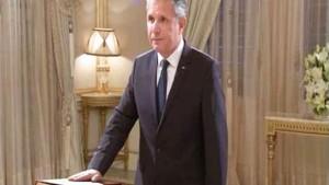 عبد العزيز الرصاع  سفير باريس  الجمهورية التونسية
