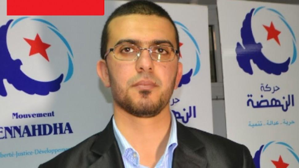 عضو مجلس شورى حركة النهضة هشام العريض يقدم استقالته