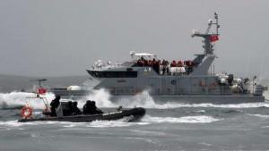 جزيرة قرقنة : إنقاذ 11 مهاجرا غير شرعي تعطل مركبهم