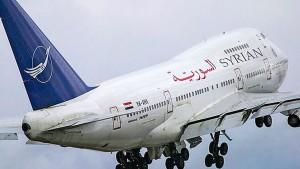 لأول مرة منذ 8 سنوات...  هبوط أول طائرة من دمشق في مطار حلب الدولي ( فيديو )