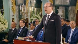 اعضاء الحكومة الجدد يؤدون اليمين الدستورية امام رئيس الجمهورية