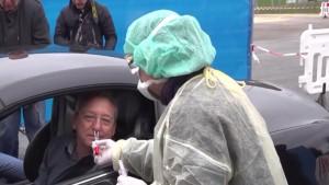ألمانيا:  افتتاح مراكز خارجية لفحص المشتبه باصابتهم بكورونا وهم في سياراتهم(فيديو)
