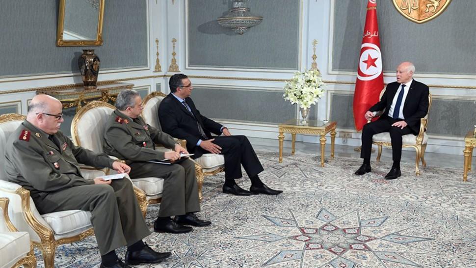 رئيس الجمهورية قيس سعيد