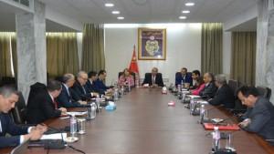 اجتماع وزارة الداخلية