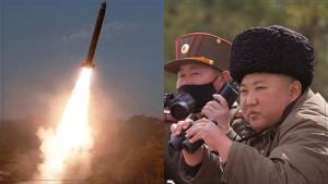 """كوريا الشمالية تطلق صاروخين وسيئول تصف الأمر بـ""""غير اللائق"""" في زمن كورونا"""