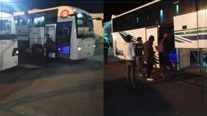 حوالي 300 شخص من العالقين بجربة يغادرون الجزيرة في اتجاه مراكز للحجر الاجباري
