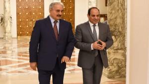 واشنطن و موسكو ترحبان بمبادرة السيسي حول ليبيا