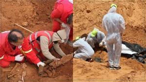 """الوفاق الليبية تتهم قوات حفتر بارتكاب """"إبادة"""" بعد الكشف عن مقابر جماعية"""