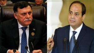 حكومة الوفاق الليبية تعتبر تصريحات السيسي بمثابة 'إعلان حرب'