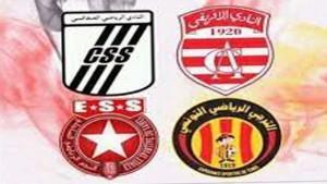 ترتيب النوادي التونسية