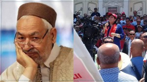 عبير موسي : أمس وقع الاعلان رسميا بأن راشد الغنوشي المرشد العام اللاخوان المسلمين فرع تونس وشمال إفريقيا