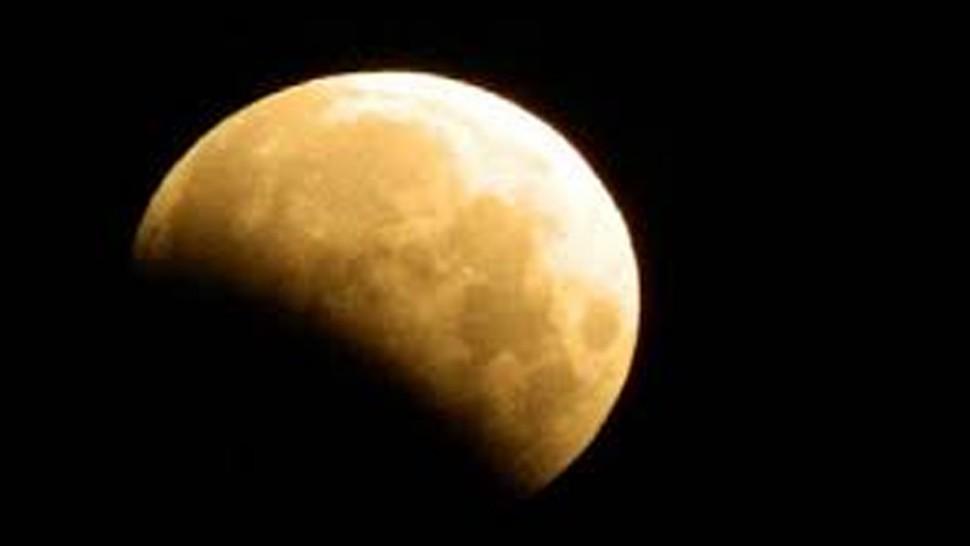 خسوف شبه ظل جزئي للقمر