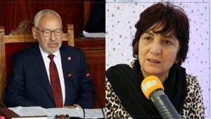 سامية عبو : أدعو الغنوشي إلى الاستقالة قبل جلسة سحب الثقة