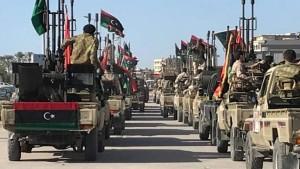 ليبيا : حكومة الوفاق الوطني تدفع بمقاتلين نحو سرت