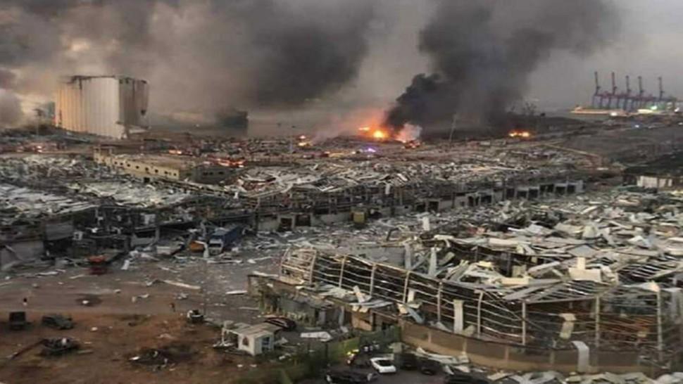 ارتفاع حصيلة قتلى انفجار بيروت
