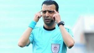 نعيم حسني يدير مباراة النادي الصفاقسي و النادي البنزرتي