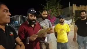 عقارب : مسيرة شعبية واعتصام مفتوح للمطالبة بتفعيل قرار غلق المصب