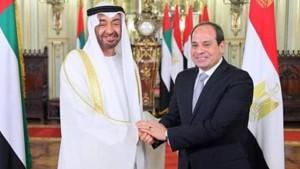 """السيسي يهنىء بن زايد بـ""""خطوة الإمارات التاريخية للسلام'' مع الكيان الصهيوني"""