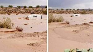 سيدي بوزيد: فقدان سائق سيارة نقل ريفي بعد محاولته عبور وادي الناظور