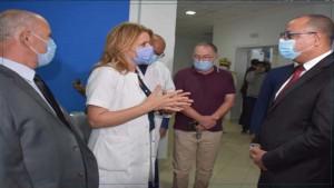 رئيس الحكومة في مستشفى فطومة بورقيبة