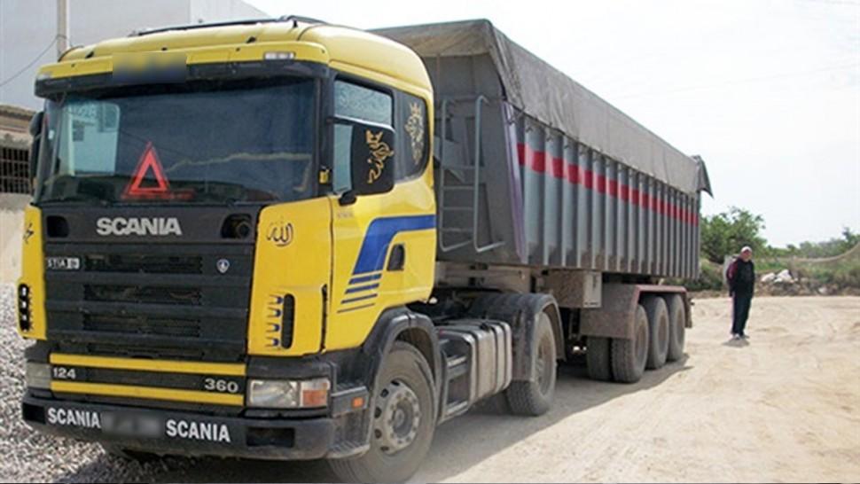 نقل البضائع في تونس