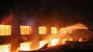 مستشفى حريق