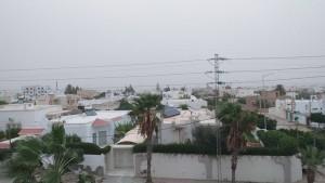 الطقس بصفاقس:سحب كثيفة وسرعة الريح تصل إلى 40 كلم في الساعة
