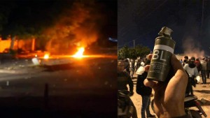 الشابّة : مناوشات ليليّة بين الأمن و المحتجّين