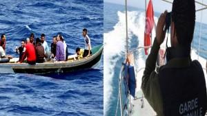 صفاقس: إنقاذ 51 مهاجرا غير نظامي