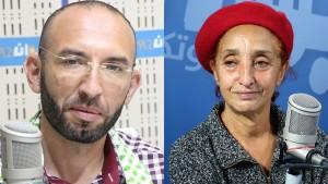 فاطمة بن سعيدان ومحمد العفاس