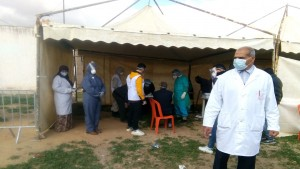 أولاد طاهر_الحنشة: حملة استقصاء نشيط لفيروس كورونا