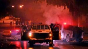 مدنين: ايقاف 6 أشخاص وحجز عجلات مطاطية معدة للحرق