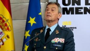 رئيس اركان الجيش الاسباني