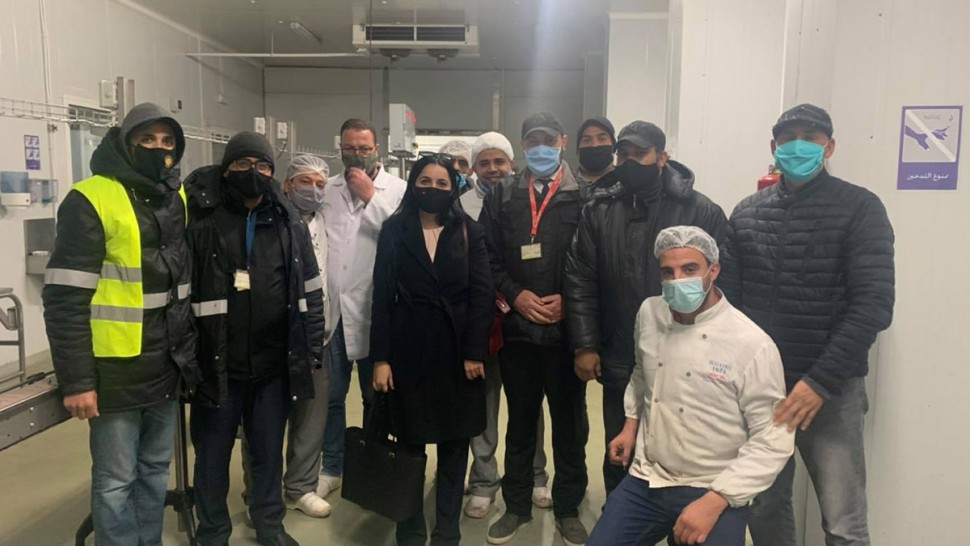 ألفة الحامدي: عودة الحياة  تدريجيا لمصنع الخطوط التونسية للتموين