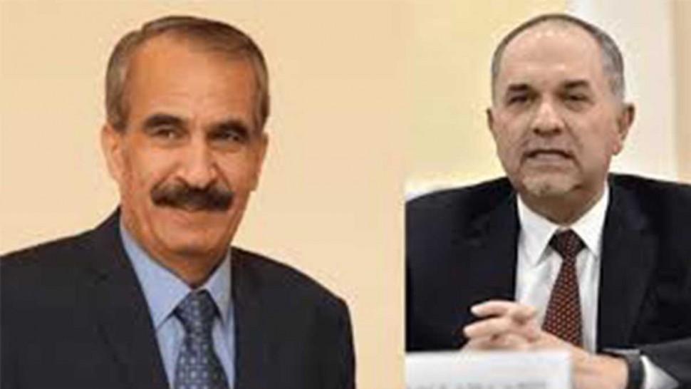 وزيري الداخلية والعدل الاردنيين