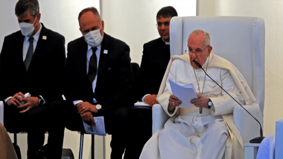 العراق: البابا فرنسيس يدعو من مدينة أور التاريخية إلى تحقيق السلام في الشرق الأوسط