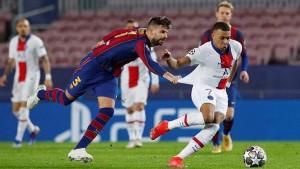 دوري أبطال أوروبا : برشلونة في مهمة شبه مستحيلة أمام البي أس جي