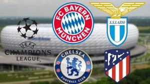 مهمّة سهلة لبايرن ميونيخ وقمّة مثيرة بين تشيلسي وأتليتيكو مدريد