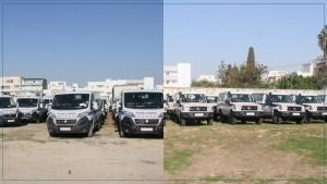 وزارة الصحة تتسلم دفعة من سيّارات الاسعاف الطبّي والتجهيزات الطبيّة المتطوّرة