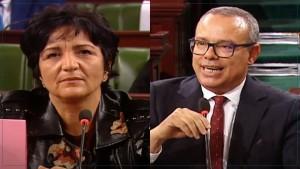 بعد إلغاء جلستين عامتين : سامية عبو تحمل الائتلاف الحاكم المسؤولية و عماد الخميري يرد