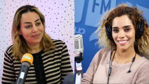 منال عبد القوي ونوسة عزيز
