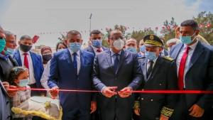 رئيس الحكومة يعطي شارة انطلاق استغلال المستشفى الميداني كوفيد 19 بالقيروان