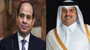 أمير قطر والسيسي يتبادلان التهاني بمناسبة شهر رمضان